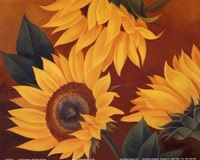 Sunflowers II Fine Art Print