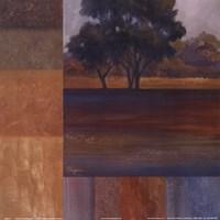 Rhythms Of Landscape I Fine Art Print