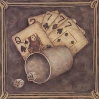 Poker - Sevens Fine Art Print