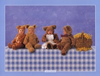 Teddy Bears #2 Fine Art Print