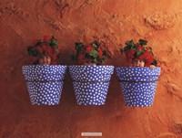 Mediterranean Pots Framed Print