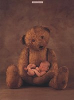 Campbell With Bear Fine Art Print