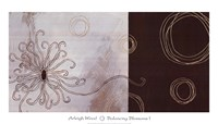 Balancing Blossoms I Framed Print