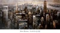 Manhattan by Night Fine Art Print