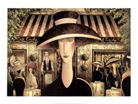Cafe Emily Fine Art Print