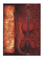 Red Cello Fine Art Print