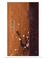Oriental Blossoms I Fine Art Print