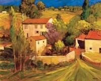 La Femme en Provence Fine Art Print