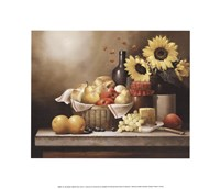 On the Kitchen Table Framed Print
