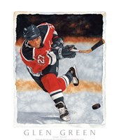 Slap Shot Fine Art Print