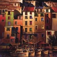 Mediterranean Gold Framed Print