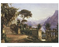 Lodge on Lake Como Framed Print