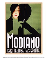Modiano, 1935 Fine Art Print