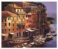 Mediterranean Port Fine Art Print
