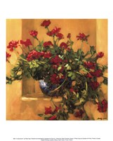 Ivy Geraniums Fine Art Print
