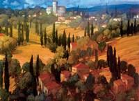Tuscan Castle Framed Print