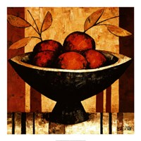 Crimson Harvest Framed Print