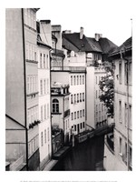 Little Canal, Prague, Czech Republic Framed Print