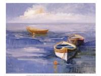Resting Boats Fine Art Print