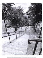 Escalier de Montmarte Fine Art Print