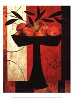 Fruit on Silk Fine Art Print