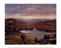Vineyard View I Fine Art Print