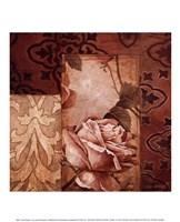 Linen Roses I Fine Art Print