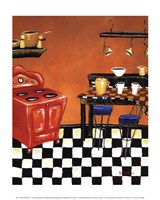 Retro Kitchen IV Fine Art Print
