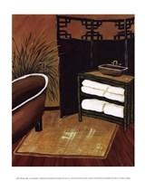 Bamboo Bath Fine Art Print