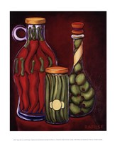 Fancy Oils III Fine Art Print