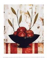 Pommes Rouges Framed Print