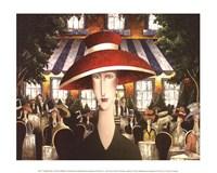 Twilight Cafe Fine Art Print