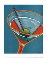 Sunglow Martini II Fine Art Print