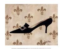 Poussoir Noir II Framed Print