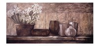 Hyacinth on a Sideboard Fine Art Print