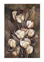 Golden Tulips Fine Art Print