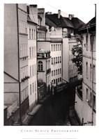 Little Canal, Prague, Czech Republic Fine Art Print