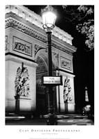 Place Charles de Gaulle Framed Print