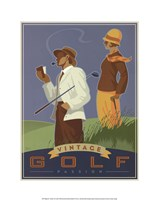 Vintage Golf - Passion Fine Art Print