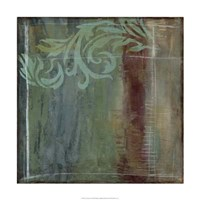 Lush Filigree III Framed Print