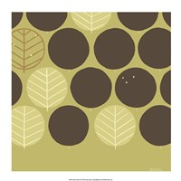 Forest Motif III Framed Print