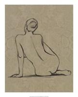Sophisticated Nude II Framed Print