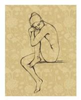 Sophisticated Nude IV Framed Print