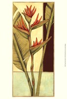 Tropical Flower Panel II Fine Art Print