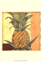 Golden Pineapple I Fine Art Print
