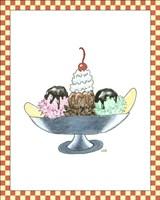 Ice Cream Parlor IV Fine Art Print