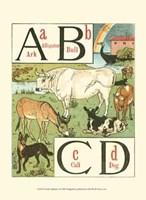 Noah's Alphabet I Fine Art Print