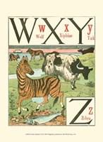 Noah's Alphabet VII Fine Art Print