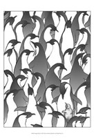 Penguin Family I Fine Art Print
