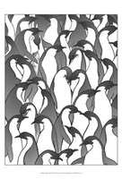 Penguin Family II Fine Art Print
